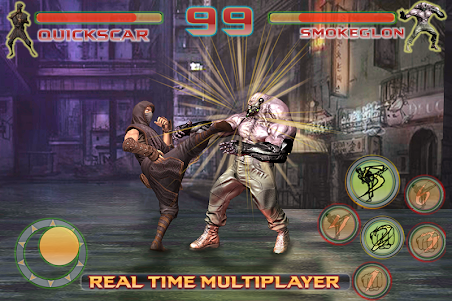 Shadow Ninja Kung Fu Fight 3D 1 screenshot 5