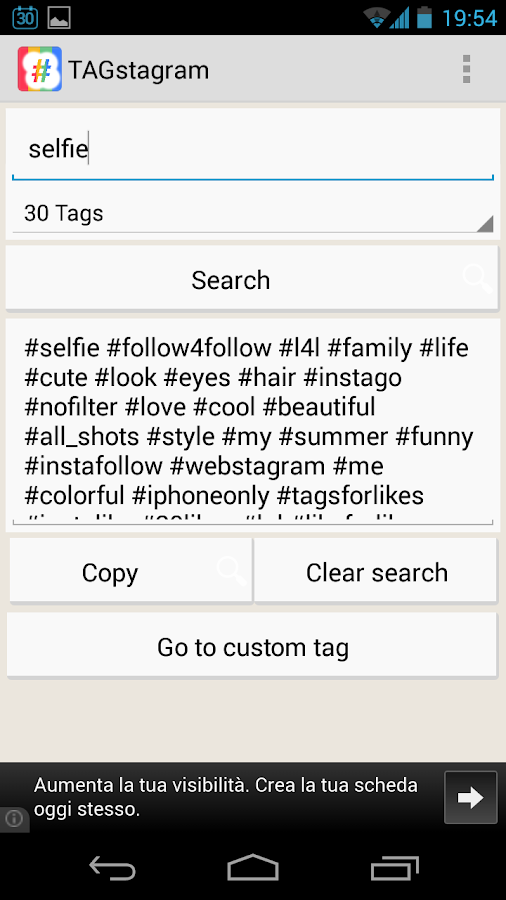 TAGstagram - IG TAG searcher 2 0 1 APK Download - Android Social Apps