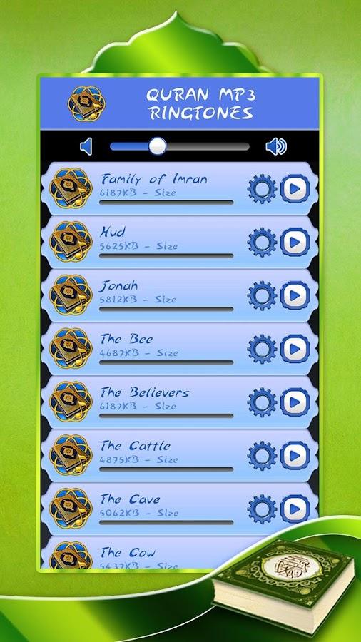 Quran Mp3 Ringtones 2 6 APK Download - Android Music & Audio