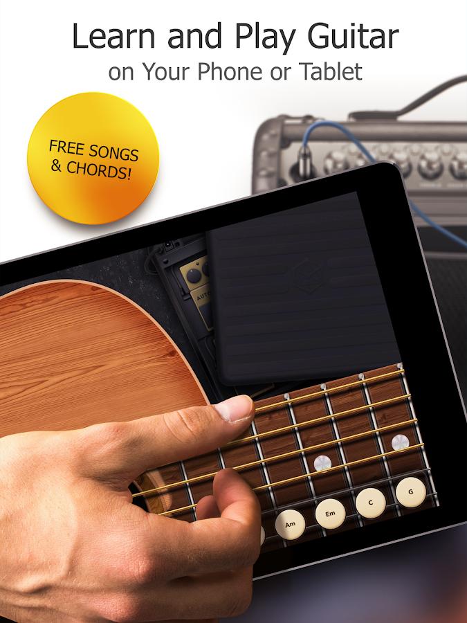 Real Guitar Free - Chords, Tabs & Simulator Games APK Download ...