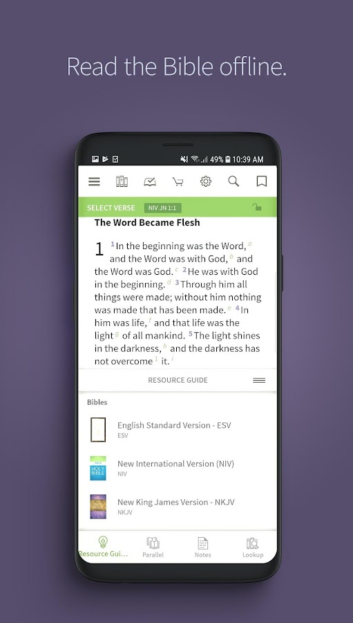 Bible App by Olive Tree 7 5 5 0 6103 APK Download - Android