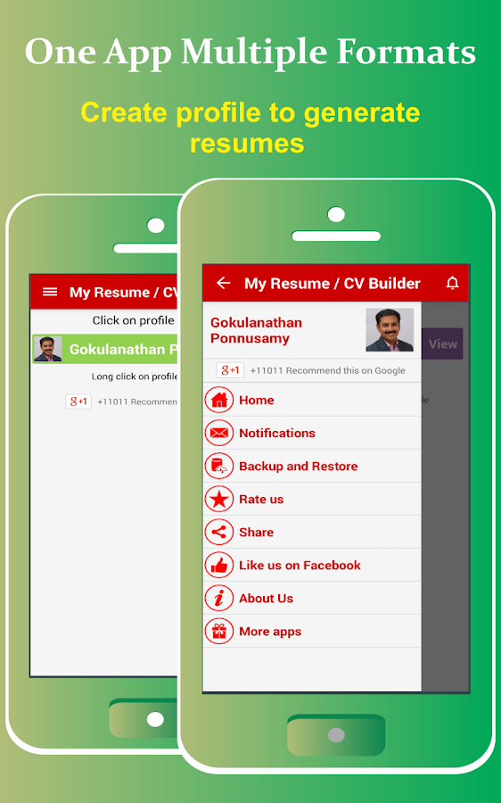 my resume builder cv free 4 3 3 apk