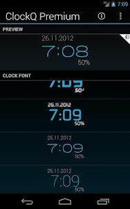 ClockQ - Digital Clock Widget  screenshot 3