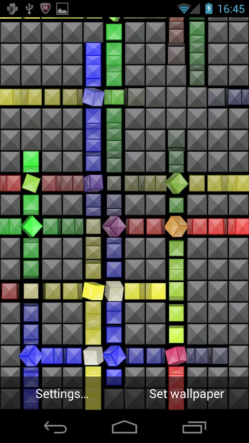Nexus Cube Live Wallpaper 049 Apk Download Android