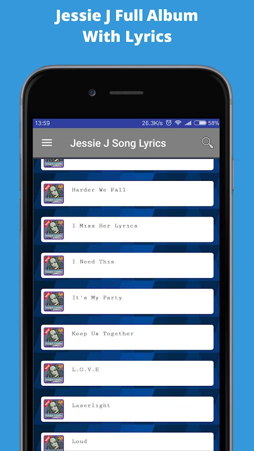 Album Jessie J Flashlight Song with Lyrics 1 0 APK Download