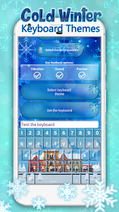 Cold Winter Keyboard Themes 1.0 screenshot 3