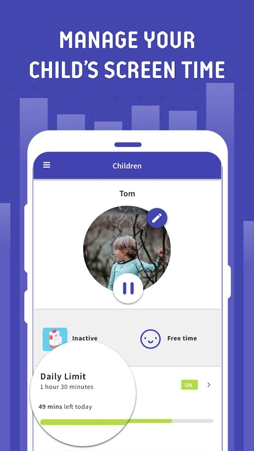 Parental Control - Screen Time & Location Tracker 3 11 28