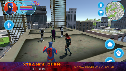 Strange Hero: Future Battle 11.0.0 screenshot 2