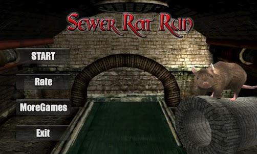Sewer Rat Run! 3D 2.4 screenshot 1