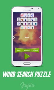 Word Search Puzzle 2017 1.0 screenshot 1