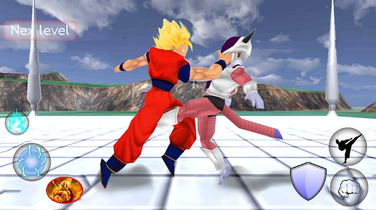 Goku Saiyan real battle Z 2.0 screenshot 3