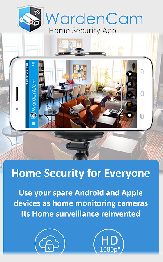 Home Security Camera WardenCam - reuse old phones APK