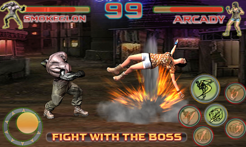 Shadow Ninja Kung Fu Fight 3D 1 screenshot 2