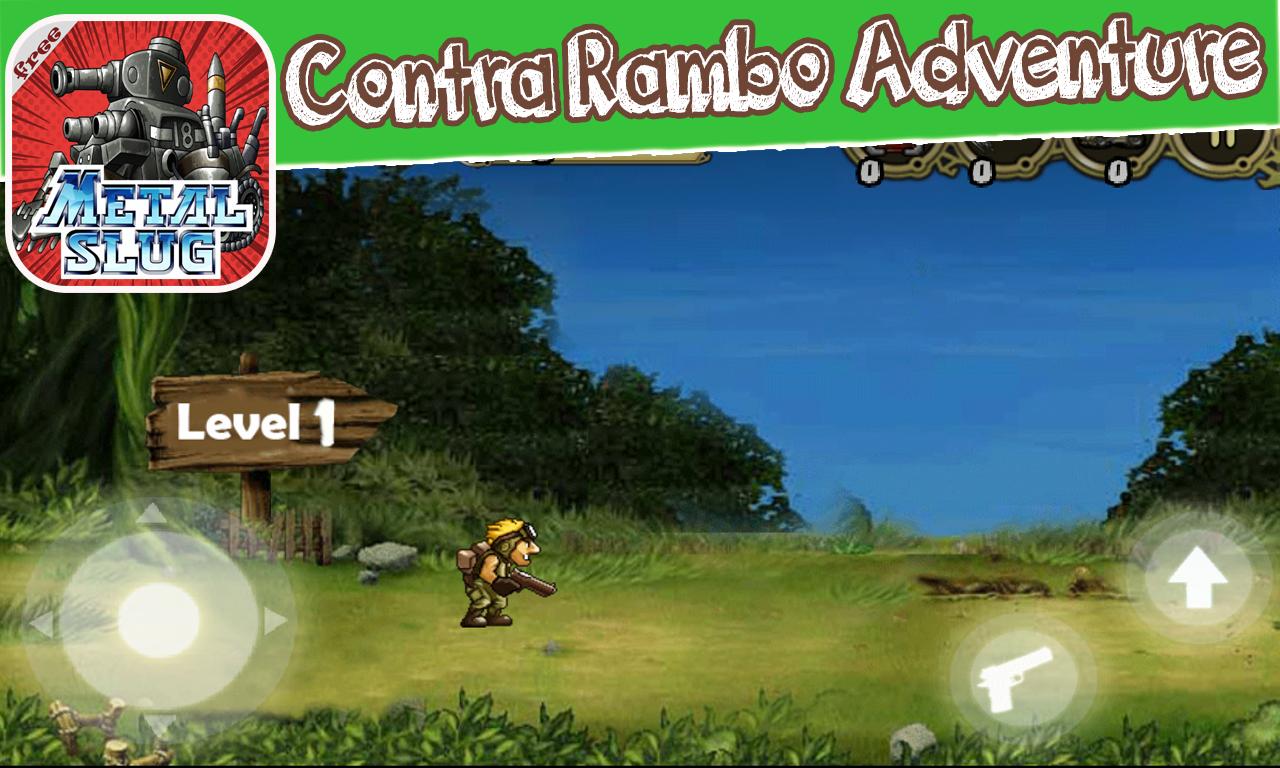 Contra Rambo Adventure 1 1 4 APK Download - Android Arcade Games
