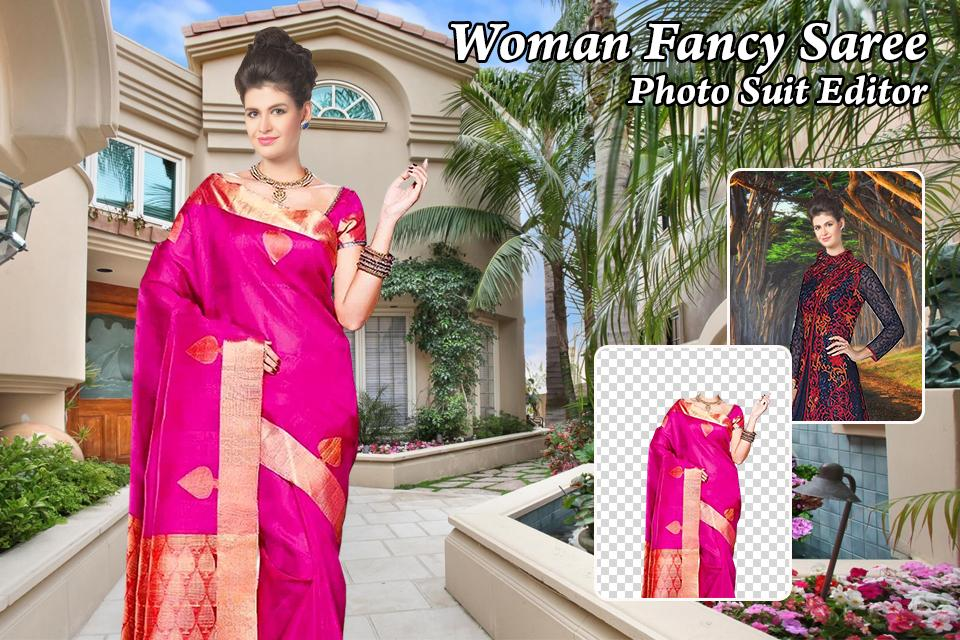f88bf4443a Woman Fancy Saree Photo Suit Editor 1.1 APK Download - Android ...