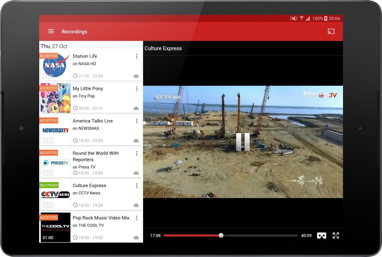 free live tv application for laptop