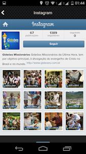 Gideões Missionários da Última 4.0.1 screenshot 3