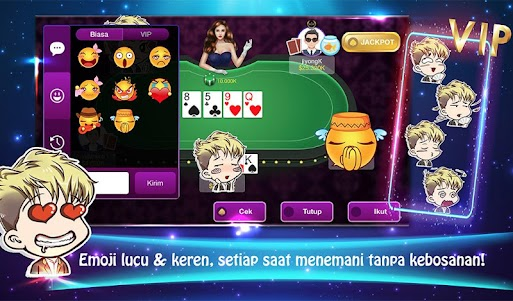 Java Poker Texas:Pulsa Free 1.3 screenshot 12