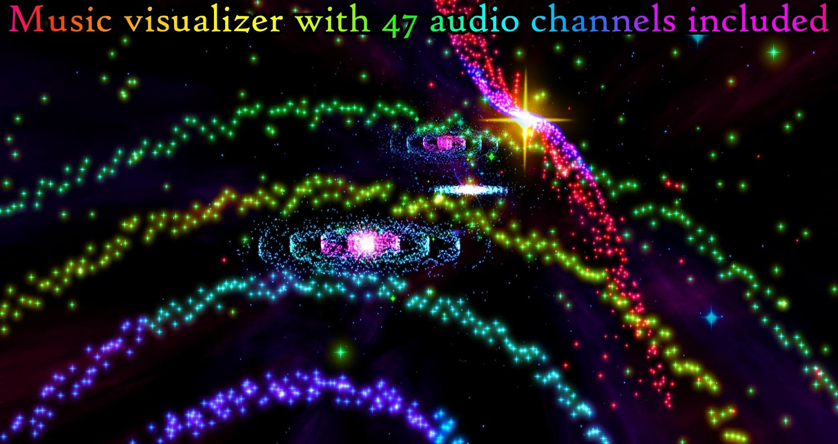 3D Stars Journey Music Visualizer Pro 2 52 APK Download