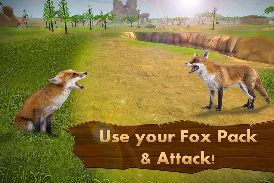 fox simulator 3d wild animals 1 0 6 apk download android