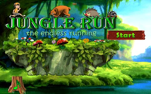 Amazing Jungle run 3.0 screenshot 10