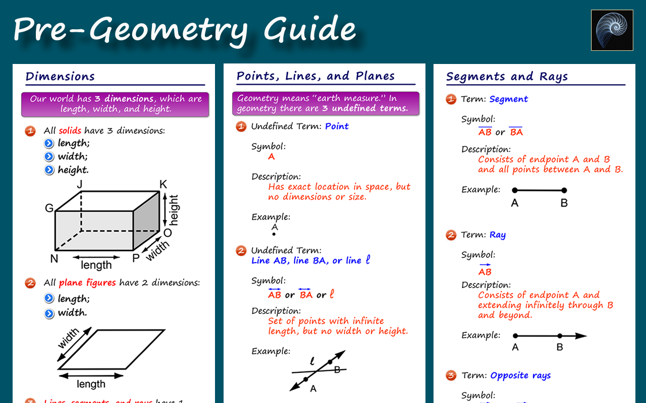 Pre Geometry 70 Apk Download Android Education Apps