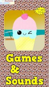 Ice Cream Games For Kids Free 1.1 screenshot 1