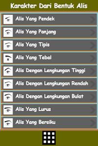 Karakter dari Bentuk Alis 1.0 screenshot 1