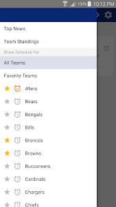 49ers Football: Live Scores, Stats, Plays, & Games 7.7 screenshot 15
