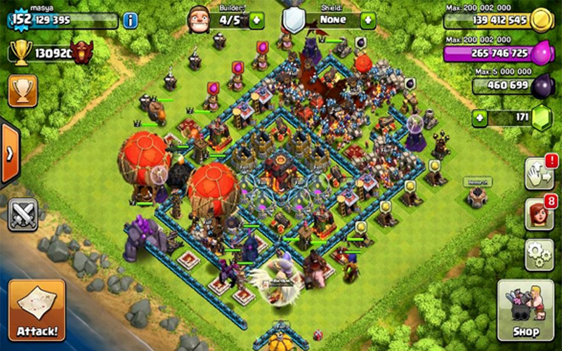 Servers FH-X COC offline 1 0 APK Download - Android Strategy