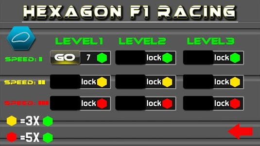 Hexagon Track Racing 1.5 screenshot 2
