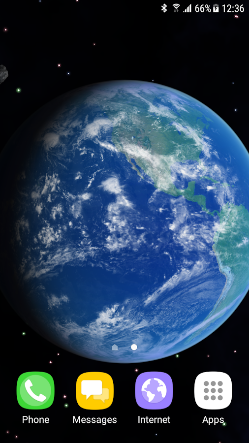 3D Earth Live Wallpaper 105 Screenshot 4