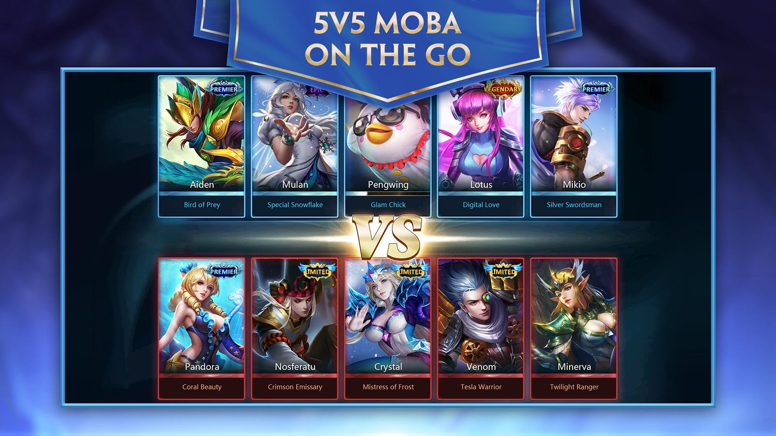 Heroes Evolved 1 1 26 0 APK + OBB (Data File) Download