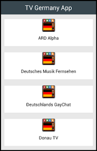 TV Germany App 1.2 screenshot 1