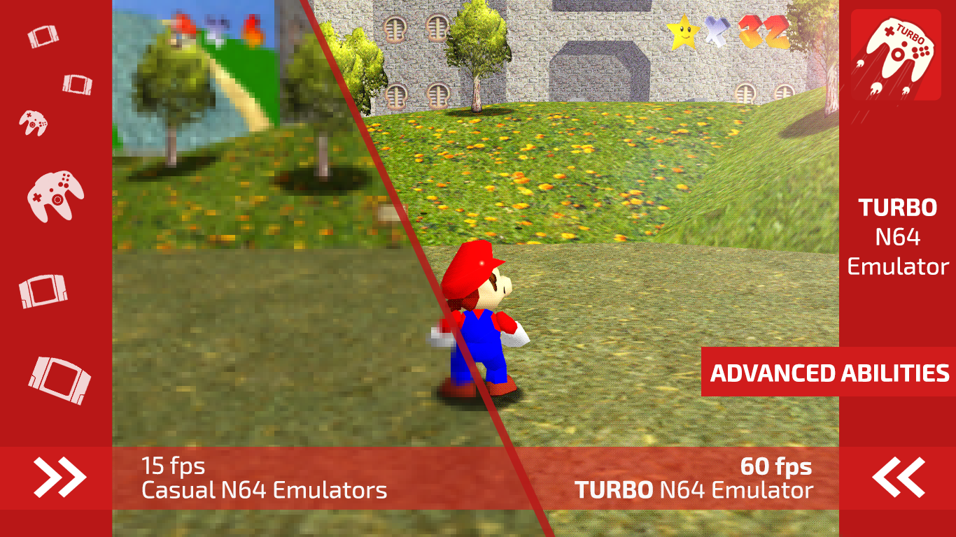 Turbo Emulator for N64 1 0 APK Download - Android Arcade Games