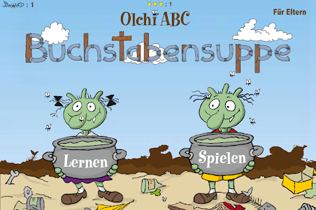 Olchi ABC - Buchstabensuppe 1.0.6 screenshot 1