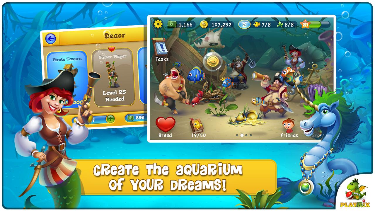 download fishdom 2 mod apk