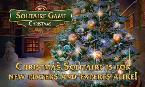 Solitaire Game. Christmas 1.0.0 screenshot 1