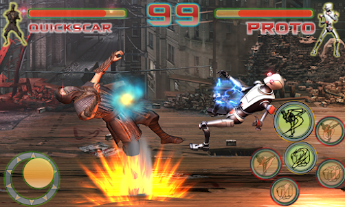 Shadow Ninja Kung Fu Fight 3D 1 screenshot 3