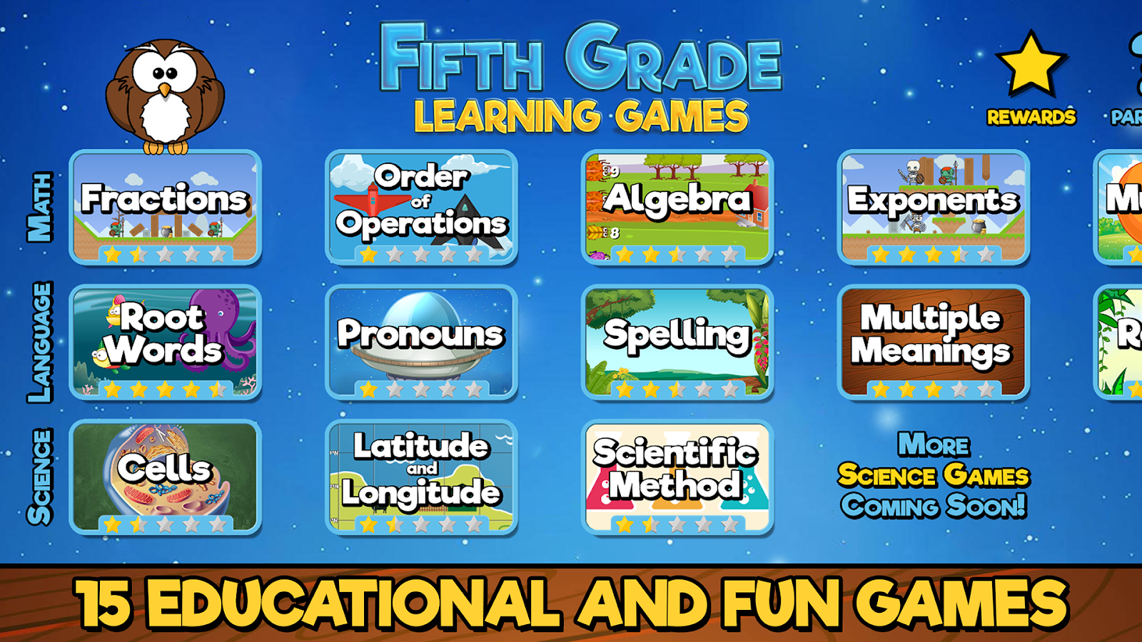 Fifth Grade Learning Games 2.0 APK Download - Android Educational Games
