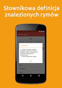 Słownik Rymów PRO 3.1 screenshot 2