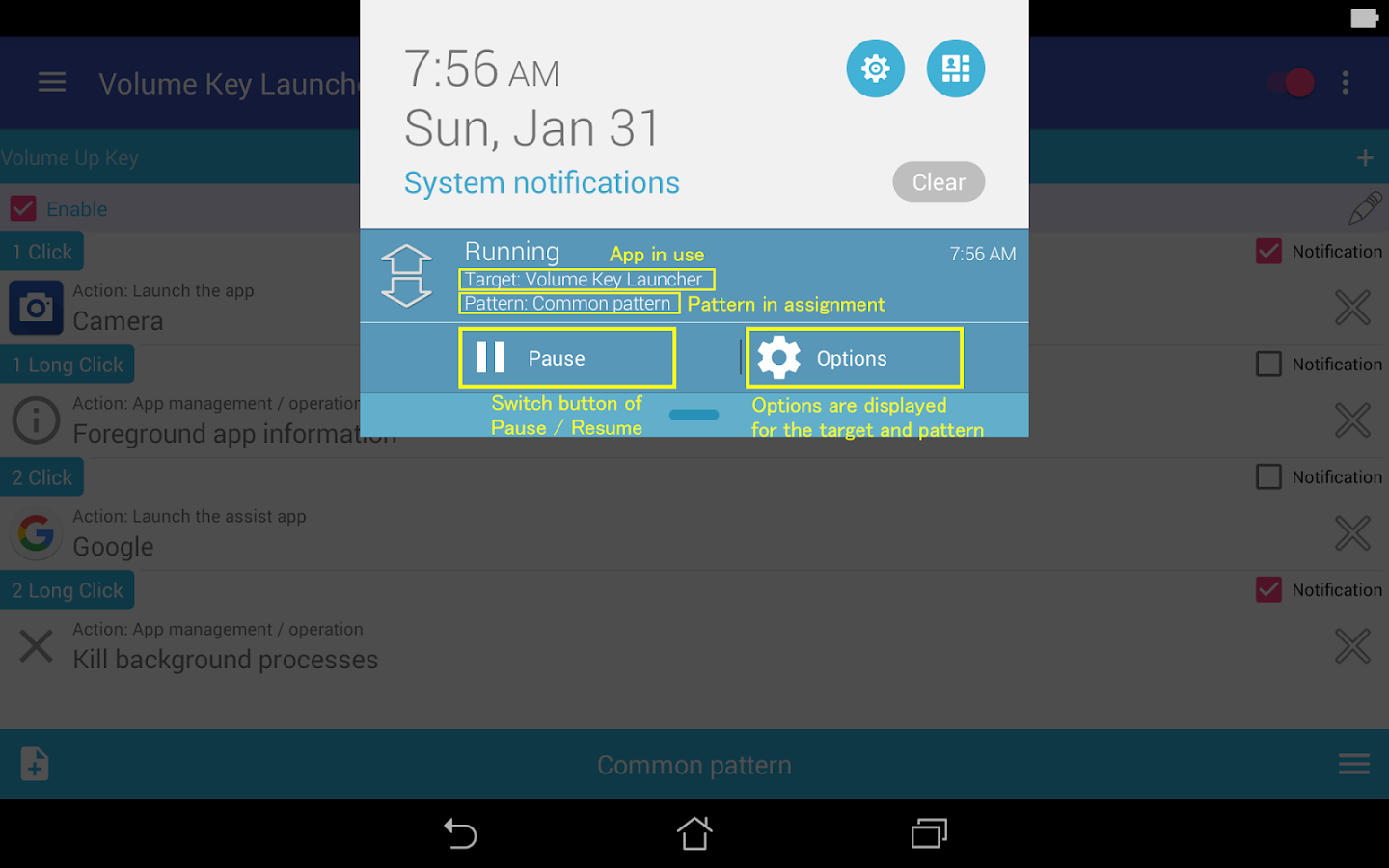 Volume Key Launcher 2 5 APK Download - Android Tools Apps