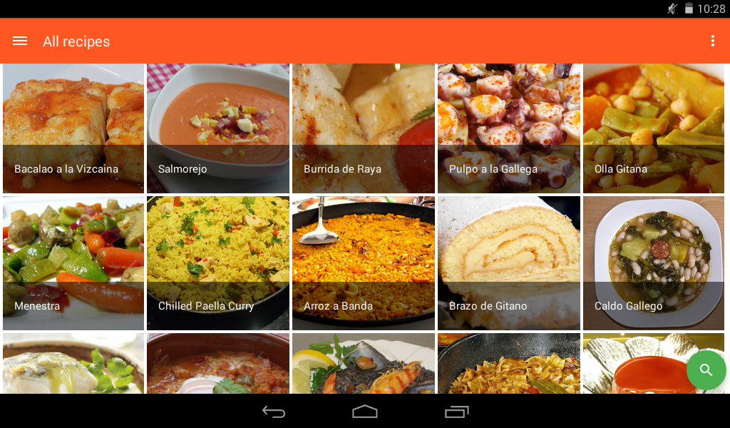 spanish food spanish recipes 1 0 0 apk download android health