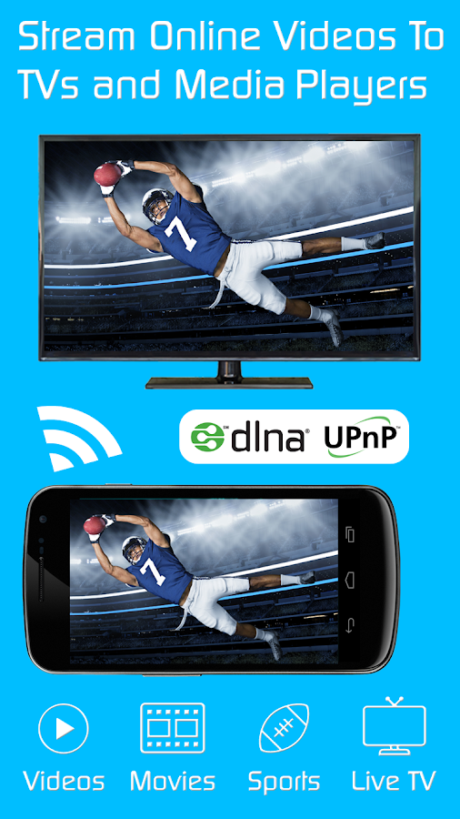 Video & TV Cast + DLNA Player & UPnP Movie Mirror 1 12 APK