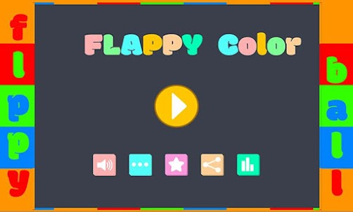 Flappy Color 1.0 screenshot 1