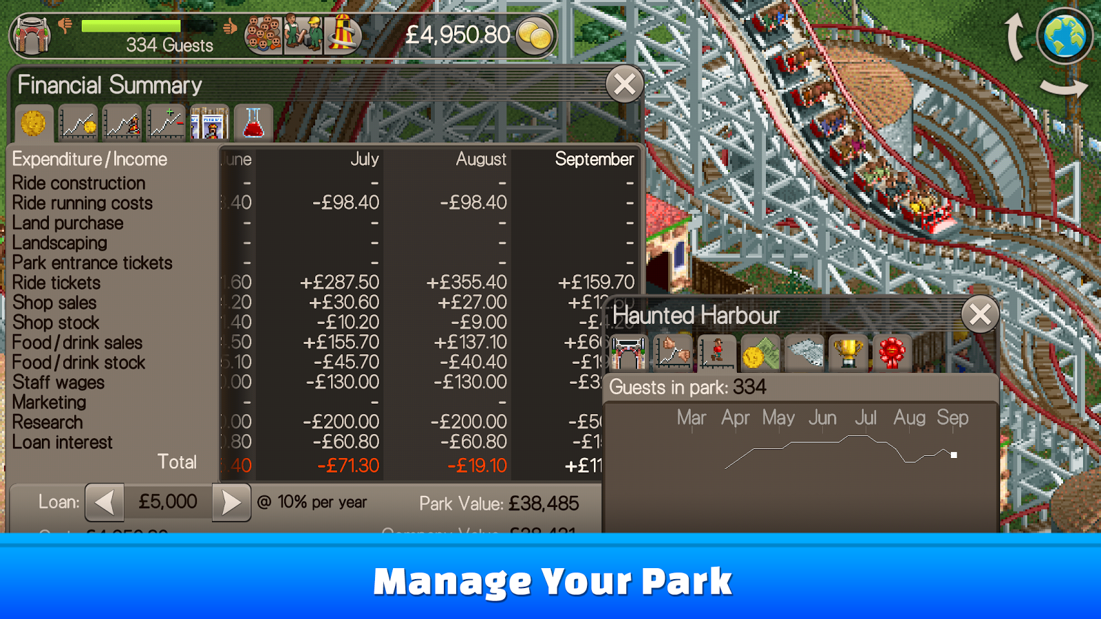 RollerCoaster Tycoon® Classic 1 2 1 1712080 APK Download