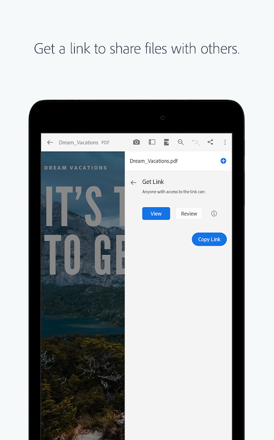 adobe pdf reader for android free download apk