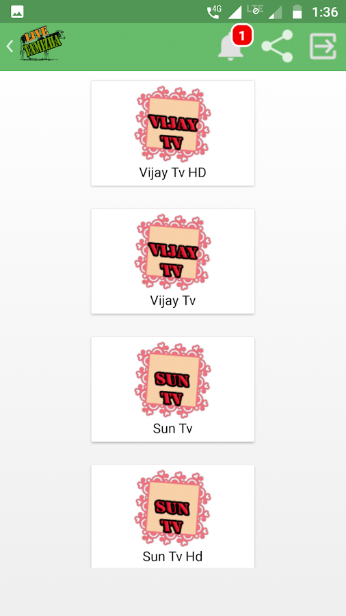 Live Tamizha - Live Hd Channels 7 6 APK Download - Android