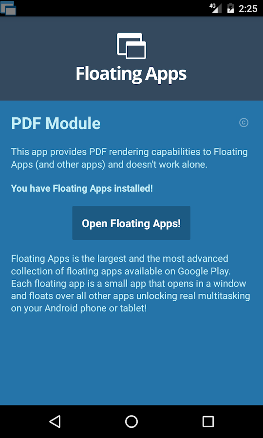Floating Apps - PDF Module 2 8 APK Download - Android Tools Apps