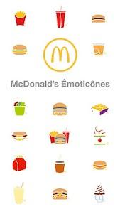 McDonald's Émoticônes 1.3 screenshot 1